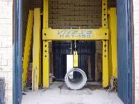 Máy kiểm tra phá hủy ống bê tông bằng...